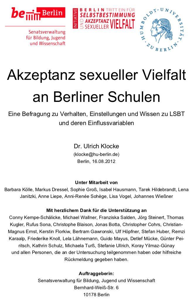 DAH-Abteilung 1: HIV-/STI-Prvention bei schwulen und