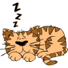 Gerald_G_Cartoon_Cat_Sleeping